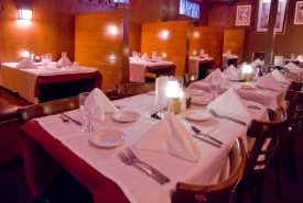 Booth or Table Seating